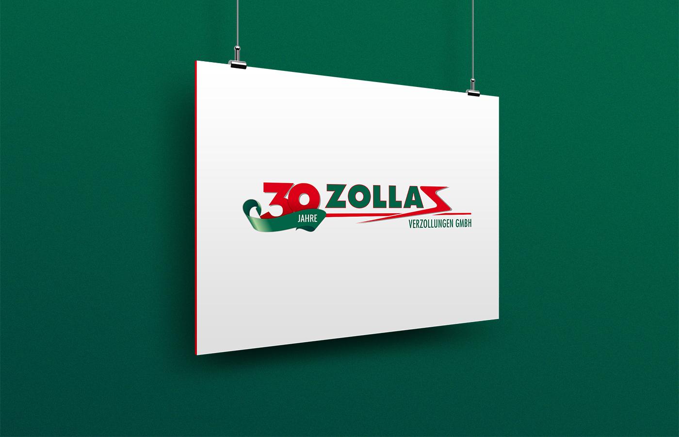 Zollas - Jubiläumslogo