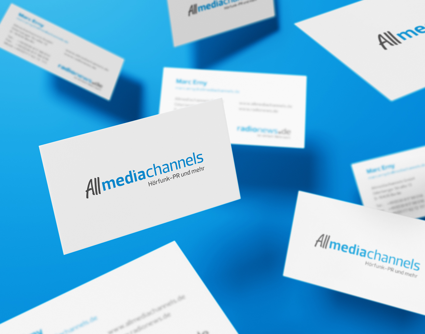 Allmediachannels - Visitenkarten