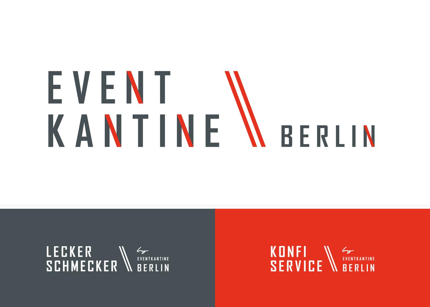 EventKantine Berlin - Logofamilie