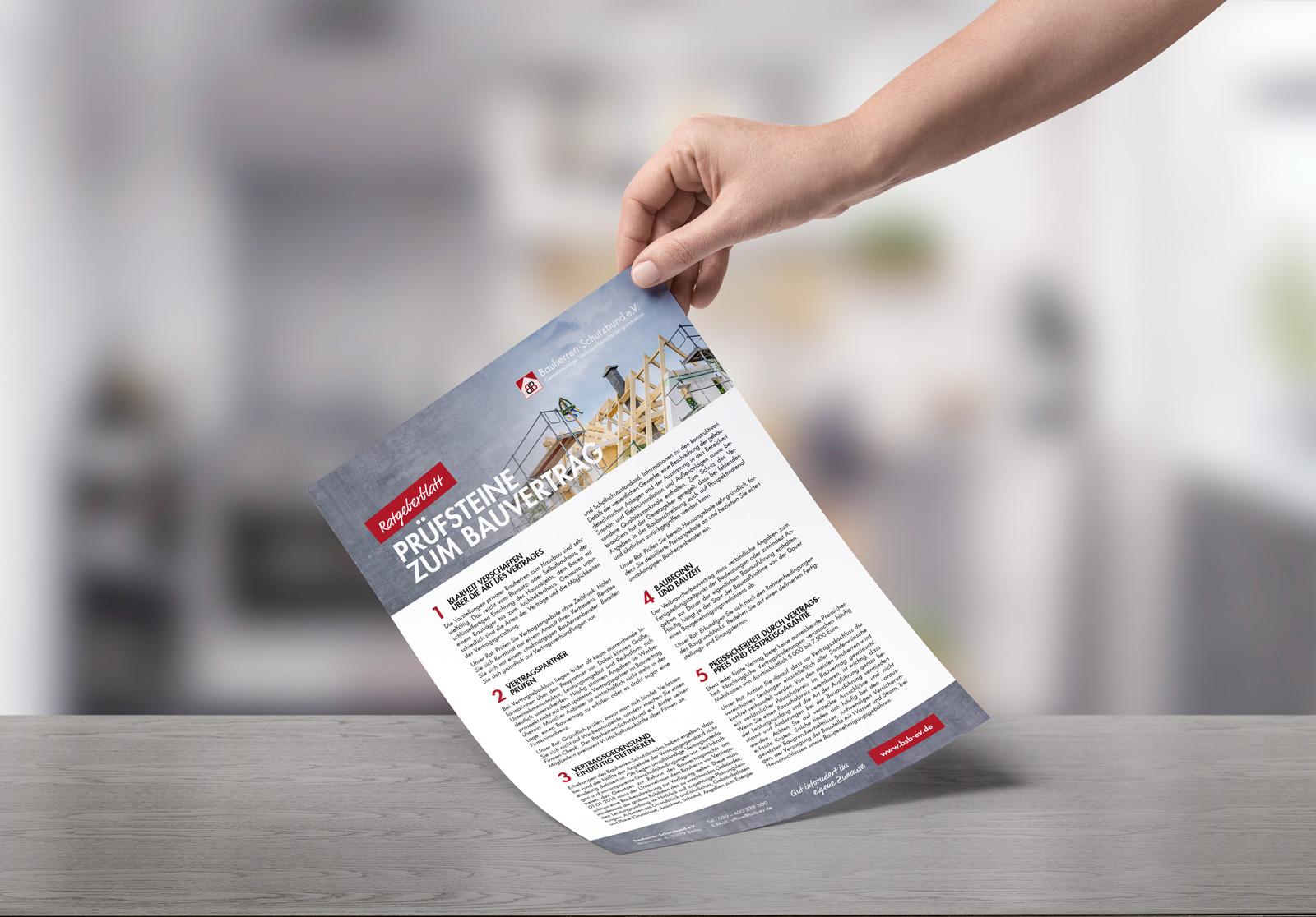 Bauherren Schutzbund e.V. – Ratgeberblatt