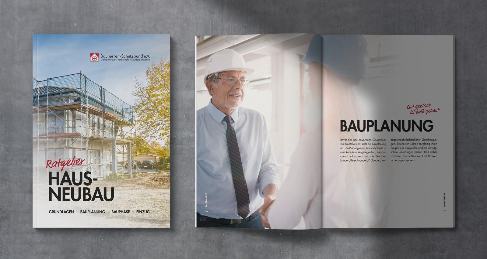 Bauherren Schutzbund e.V. – Ratgeberbroschüre Hausneubau