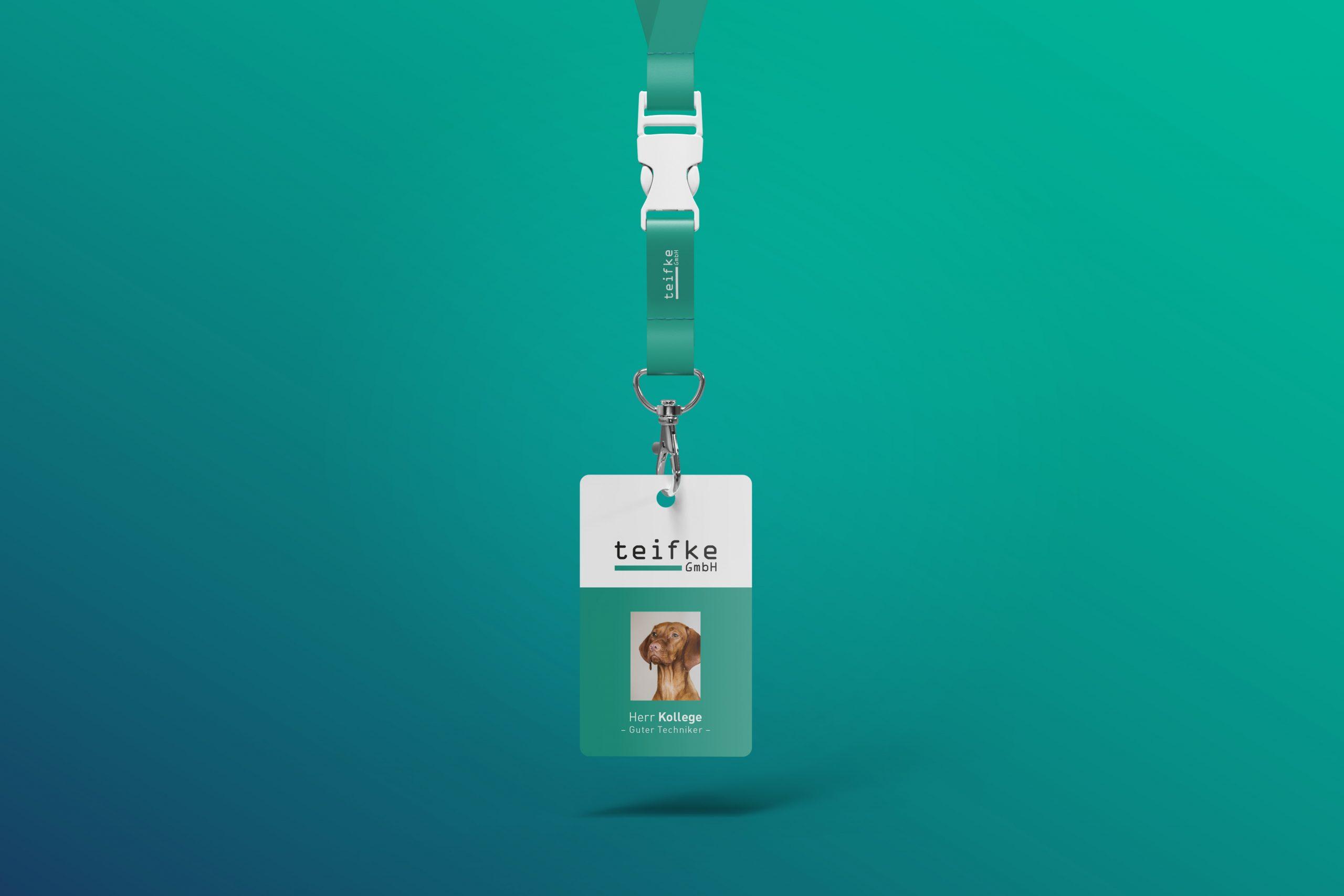 teifke GmbH - Mitarbeiterausweis