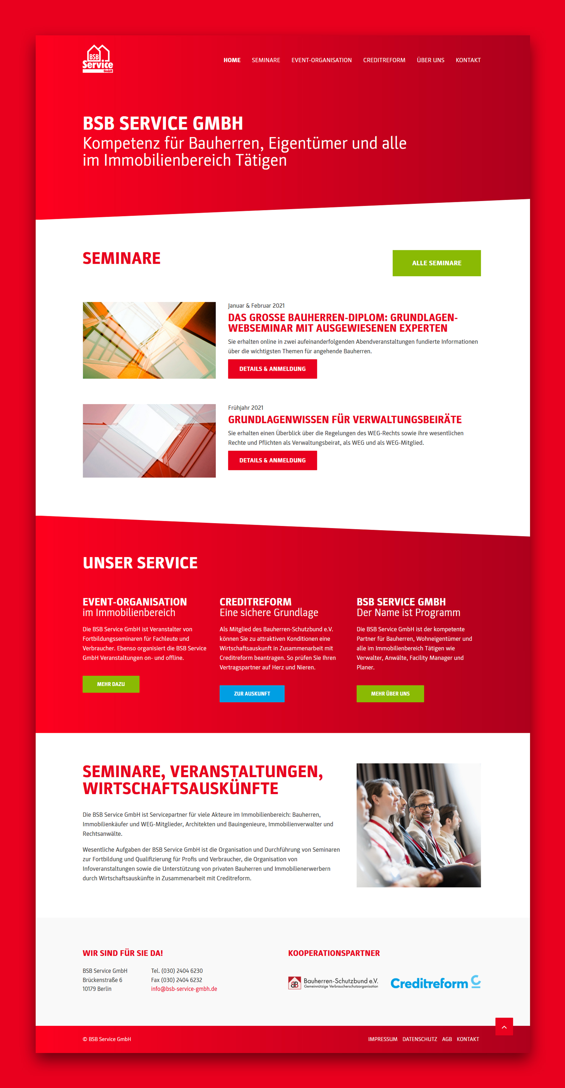 BSB Service GmbH - Website